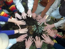 Joining hands for peace in San Luis, Argentina